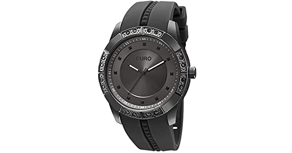 c981b66395f Relógio Feminino Euro Analógico Fashion Fit Sabrina Sato Preto -  Eu2036yela 8d  Amazon.com.br  Amazon Moda