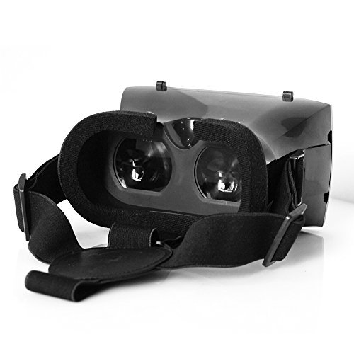 Virtual Reality VR Mobile Phone 3D Glasses 3D Movies Games With Resin Lens For 3.5 to 5.7' Smartphone SZ Wave EG001