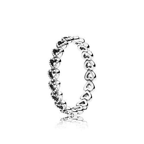 PANDORA Linked Love Ring, Sterling Silver, Size 7