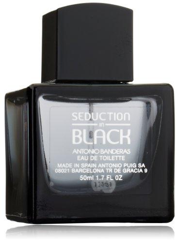 Seduction In Black Eau-De-Toilette Natural Spray by Antonio Banderas, 1.7 Fluid Ounce ()