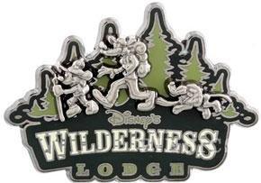 Disney Pin - Wilderness Lodge Hiking Gang