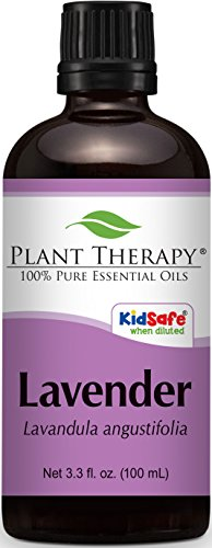 Plant Therapy Lavender Essential Oil 100 mL (3.3 oz) 100% Pure, Undiluted, Therapeutic Grade