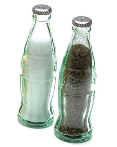 (HomyDelight Coca-Cola Bottle Salt Or Pepper Shaker 1 lbs 1.25