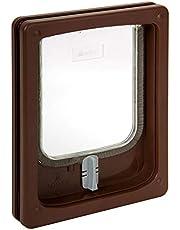 Pet-Tek Wood Fitting Cat Door Slimline 25X20 cm, 47-PTW25280
