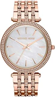 c04500ad4 Michael Kors Darci Women's Mother of Pearl Dial Stainless Steel Band Watch  - MK3220