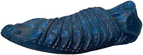 Original Fivefingers Furoshiki China Basse Vibram Donna Scarpe Jeans Blu da Vibram Ginnastica 7txnaw