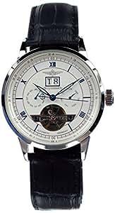 Breytenbach - Reloj de caballero, correa de piel - color azul claro