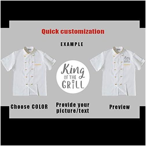 Personalized Customized Chef Jacket Hotel Kitchen Restaurant Chef Coat |