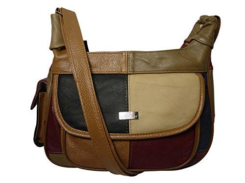 Quenchy London Set di valigie, nero (multicolore) - QL822