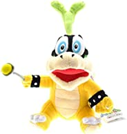Iggy Koopa Plush Toys Iggy Hop Koopa Bowser Koopalings Plush Stuffed Toy Doll for Kids Children Gifts 14Cm Pli