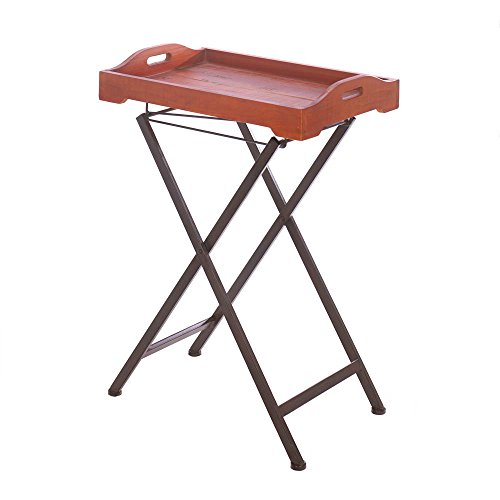 Home Locomotion Rustic Spirit Tray Table by Accent Plus