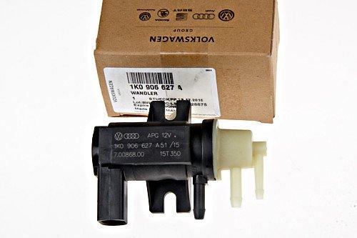 Genuine Audi VW TDI Diesel N75 Boost Pressure Converter Valve Solenoid 1K0906627 (2009 Volkswagen Jetta Diesel)