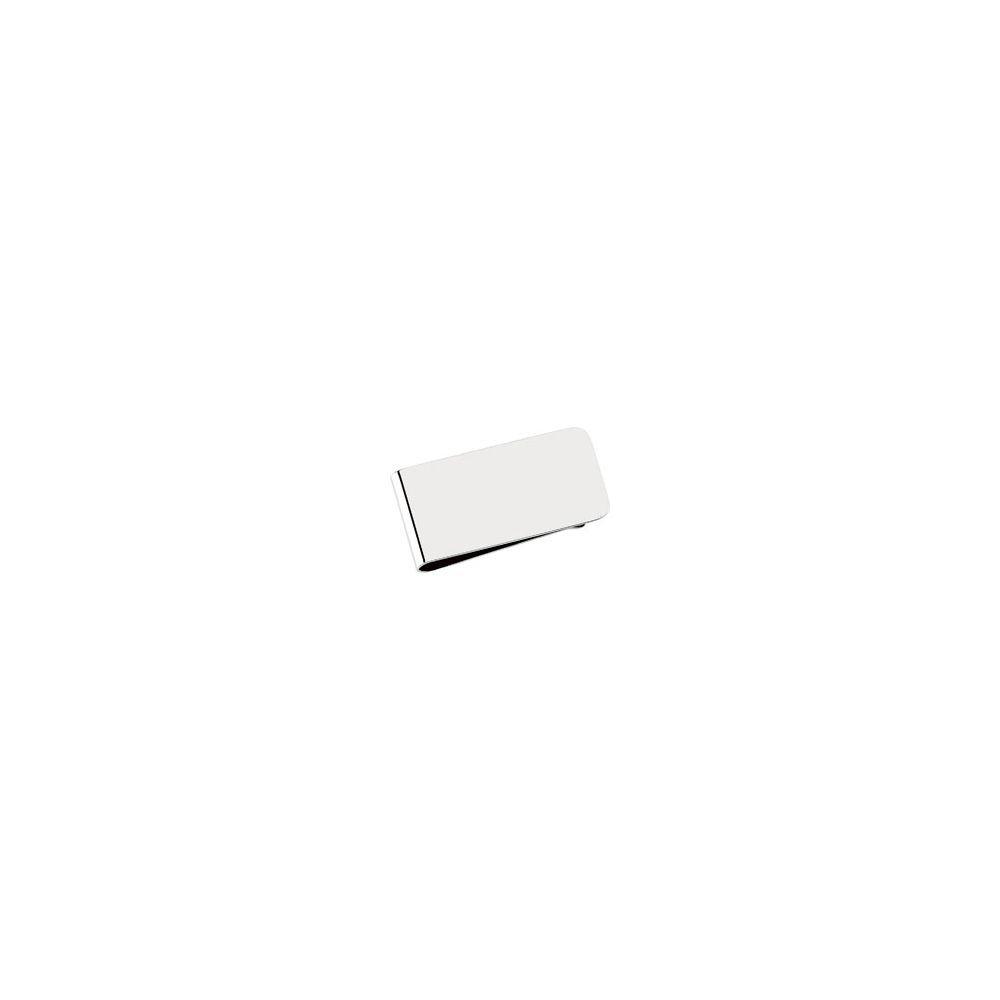 Sterling-silver Engravable Money Clip