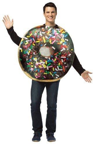 Rasta Imposta Doughnut Adult Costume Brown]()