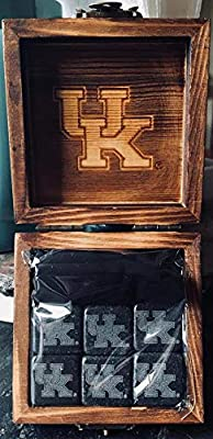 Kentucky Wildcats Etched Wine and Whiskey Stones