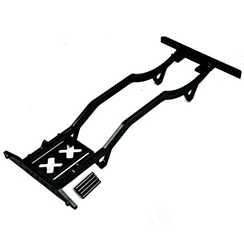 1 Set of Metal 1:10 RC Rock Crawler Car Body Chassis Frame Kit for SCX10 D90 Black