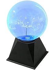Juguetrónica - Bola De Plasma Blueray, Color Azul (JUG0251)