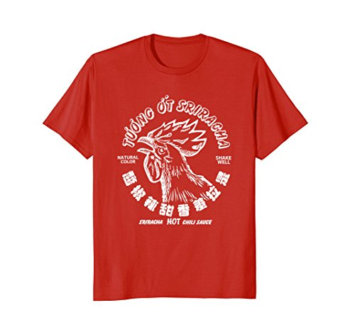 Mens Sriracha Rooster Head XL Red