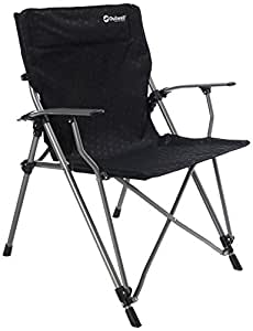 Outwell Campingstuhl Goya - Silla para acampada, color negro, talla 68 x 63 x 90 cm