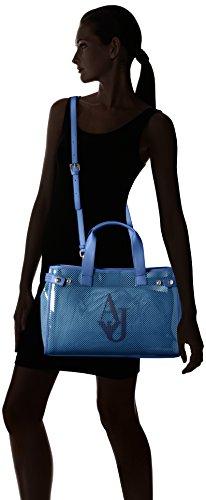 Armani Jeans 9225917p780, Borsa a mano Donna, 13x27x41 cm Blu (Ocean Blu 09934)