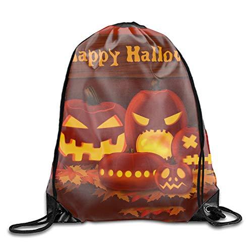 Gym Sack Bag Drawstring Backpack Halloween Party Sport Bag for Men & Women School Travel Backpack