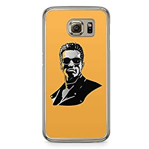 Loud Universe Arnold fAce Samsung S6 Case Terminator Samsung S6 Cover with Transparent Edges