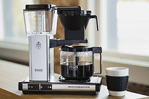 Technivorm 59616 KBG Coffee Brewer, 40 oz, Polished Silver