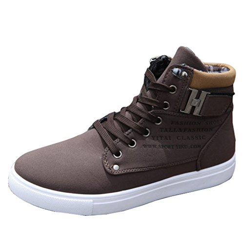 Gaorui Fashion Men Suede Martin Boots Lace up Loafers High Top Sneakers  Ankle Shoes - Buy Online in Oman.  e226d6fe79ea