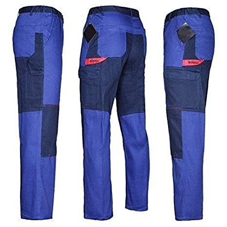 Pantaloni Da Lavoro Multifunzionale Pantaloni 100% Cotone 270g Qualità - grigio, 50.0 Bomull