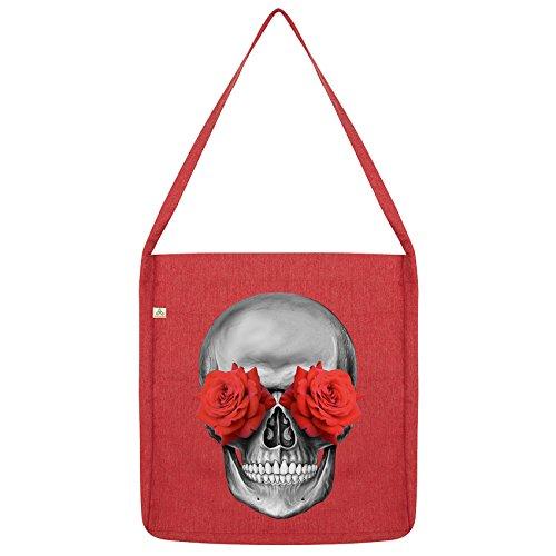 Skull Twisted Envy Red Rose Tote Skull Bag Eye Envy Bag Rose Tote Eye Twisted IFvUqqSw