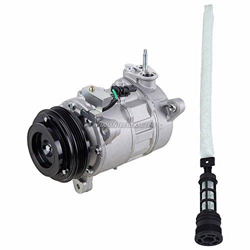 AC Compressor w/A/C Drier For Chevy Silverado GMC Sierra 1500 V6 2014 2015 2016 - BuyAutoParts 60-89252R2 New