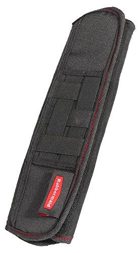 (Rubbermaid Automotive Seat Belt Shoulder Strap Car Storage Organizer with Elastic Grid)