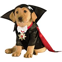 Classic Movie Monsters Pet Costume, Small, Dracula