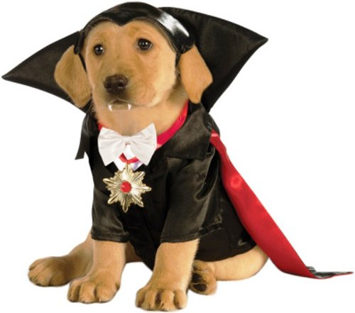 Classic Movie Monsters Pet Costume, X-Large, Dracula -