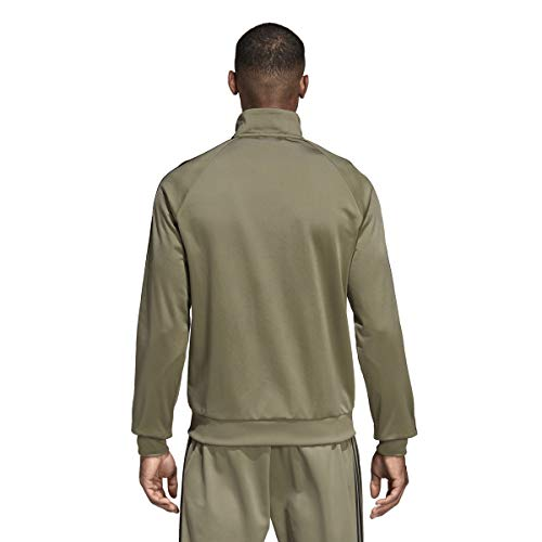 adidas Essentials 3S Tricot Track Jacket Men's All Sports M Trace Cargo by adidas (Image #1)