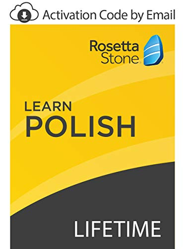 Rosetta Stone: Learn Polish with Lifetime Access on iOS, Android, PC, and Mac [Activation Code by Email]