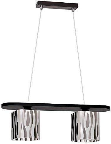Handel lámpara de techo E27 Valencia 6 luces LED: Amazon.es ...