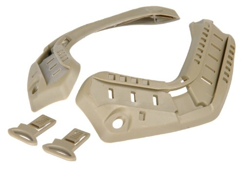 Lancer Tactical CA-719 FAST ARC Airsoft Helmet Accessory Rail Set (Tan) by Lancer Tactical