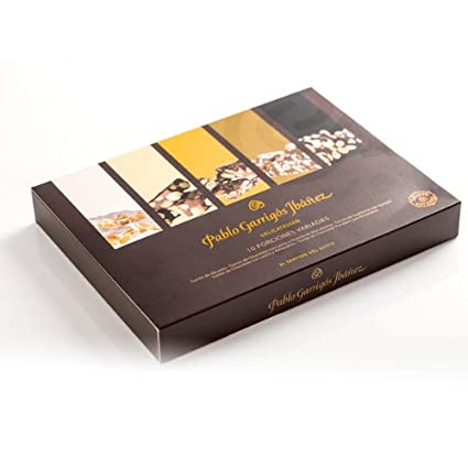 Amazon.com : Pablo Garrigós Ibáñez Delicatessen Assorted Turron (10 Portions) 5.95 oz (170 grams) (Pack of 1) : Grocery & Gourmet Food