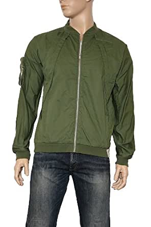 Men's G-Star by Marc Newson Army Flight Twill Jacket in Bronze Green Size L