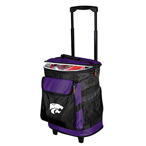Logo Brands NCAA Kansas State - Rolling Cooler by
