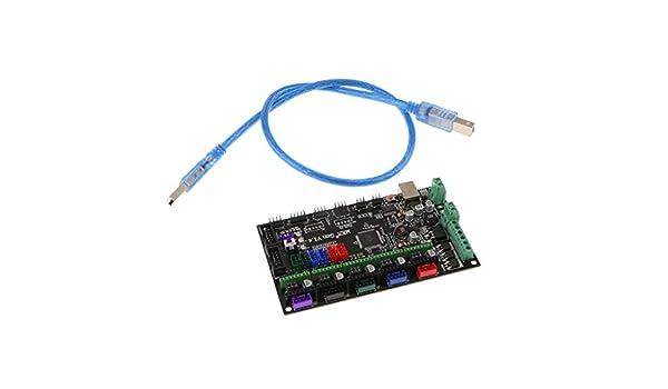 Sharplace 1x Cable USB 1x Módulo de Impresora 3D Tarjeta ...