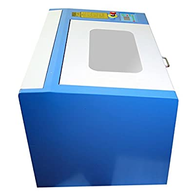 Eteyo Cutting Engraver with Cylinder Rotray Attachment Co2 Laser Engraving Machine 50w Auxiliary Rotary