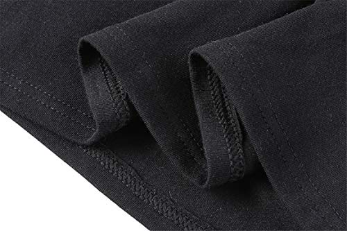 Bellelove Longues Manches Casual Shirt Tops Slim Cou O T Femmes Sexy vider Manches Dames Shirt Noir Blouse Longues rrURqS
