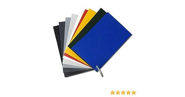 Parche de PVC para reparación de neumáticas 50x50 cm (Rojo ...