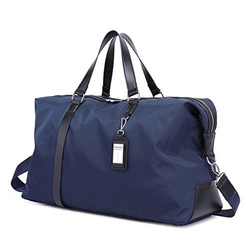 Bolsos de hombre de negocios/bolsos del totalizador/bandolera del hombro del/equipaje bolsa de viaje-Negro azul