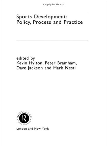 Sports Development  Policy Process And Practice