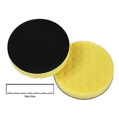 "Lake Country 78-54650DA 6-1/2"" x 1-1/4"" CCS - Yellow Foam Cutting Pad (6 Pack): Home Improvement"