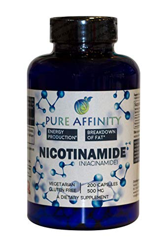 41wBj3ukmkL - 200 Count! B3 Nicotinamide 500 mg Effective Flush-Free Niacin. Energy Booster, Cell Regenerator, Supports Cognitive Decline, Anti-Aging and Helps Breaks Down Carbs & Fats (200 Ct)