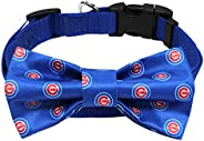 MLB Chicago Cubs Pet Collar with Removable Bow
